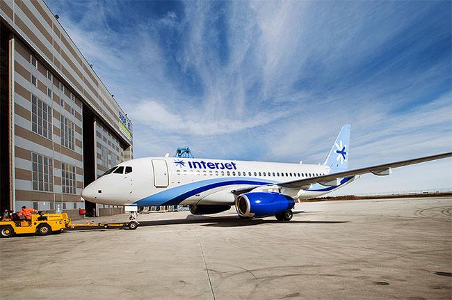 Interjet — один из главных зарубежных заказчиков российских лайнеров