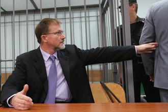 Экс-губернатор Тульской области Вячеслав Дудка во время оглашения приговора