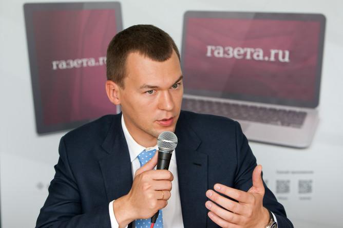 Михаил Дегтярев (ЛДПР)