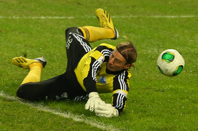 Сергей Парейко был бессилен почти во всех пропущенных мячах