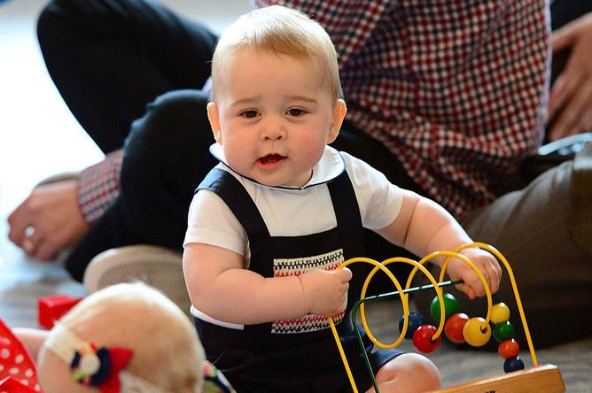 Детское благотворительное мероприятие с участием королевских особ в Веллингтоне