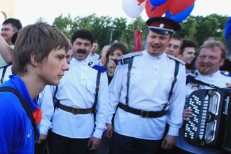 Казаки уже однажды встречали Аршавина — после бронзового Евро-2008