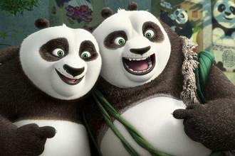 Кадр из фильма «Кунг-фу Панда-3»