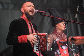 Выступление группы «ДахаБраха» на фестивале Sziget-2017 в Будапеште