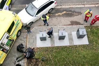Задержание подозреваемого после угона автомобиля скорой помощи в Осло, 22 октября 2019 года