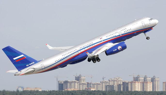 Самолет специального назначения Ту-214ОН