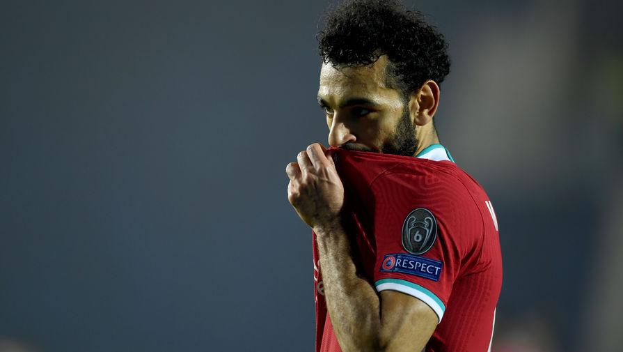 Нападающий «Ливерпуля» Мохамед Салах