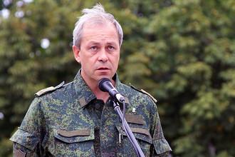 Заместитель командующего оперативным командованием самопровозглашенной ДНР Эдуард Басурин