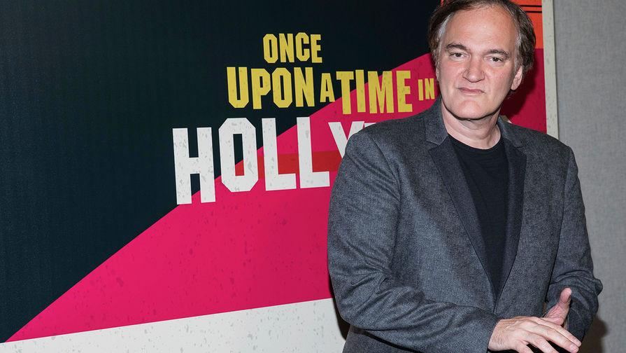 Режиссер фильма «Однажды в Голливуде» Квентин Тарантино во время CinemaCon в Лас-Вегасе...