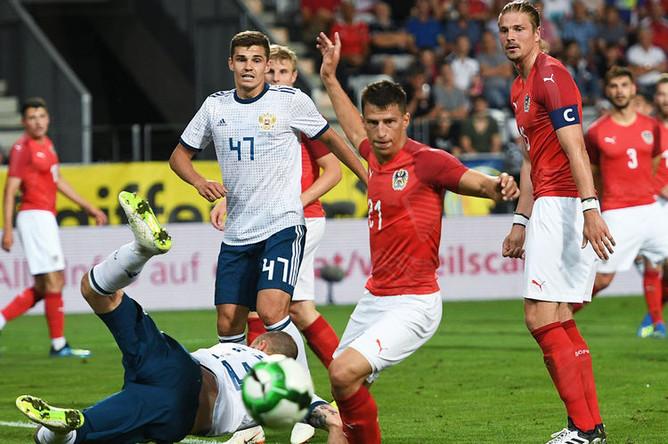 Товарищеский матч по футболу между сборными Австрии и России, 30 мая 2018 года