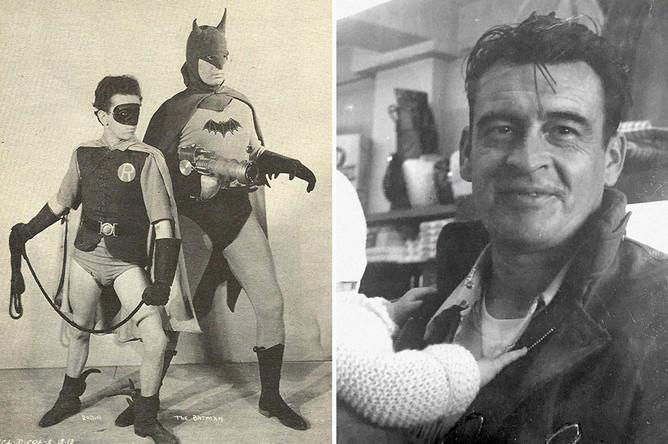 Льюис Уилсон в сериале «Бэтмен» (1943)<br><br>Первым актером, сыгравшим Бэтмена, стал Льюис Уилсон, которому на момент приглашения в сериал 1943 года было всего чуть более двадцати лет. Дальнейшая карьера Уилсона в кино особо не задалась, и вскоре он навсегда покинул шоу-бизнес, устроившись на работу в пищевую компанию