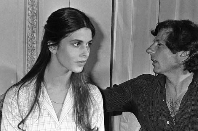Режиссер Роман Полански и Настасья Кински на Каннском кинофестивале в 1979 году