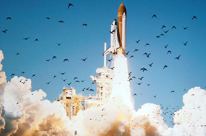 Во время десятого космического полета Challenger экипаж шаттла должен был вывести в космос спутник связи и наблюдать за кометой Галлея