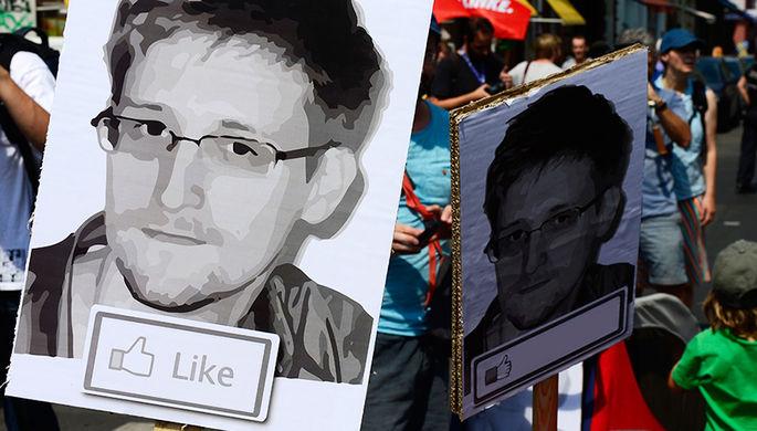 «Сигнал» для Сноудена