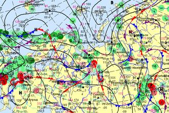 Карта приземного анализа