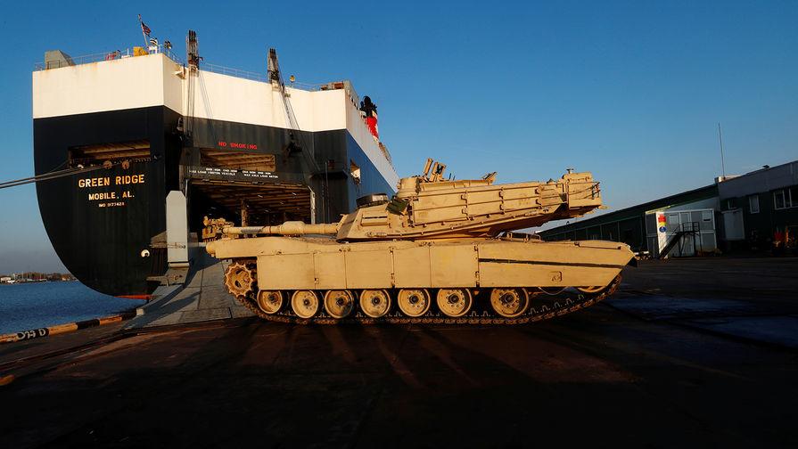 Танки США в Литве: Минск пригрозил Пентагону