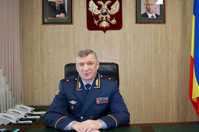 Начальник ГУФСИН России по Ростовской области Муслим Даххаев