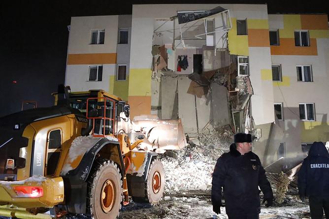 Обрушение дома в поселке Яковлево под Белгородом, 3 декабря 2019 года