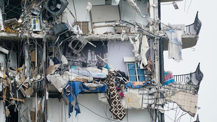 Байден забыл про обрушение дома во Флориде с почти сотней пропавших