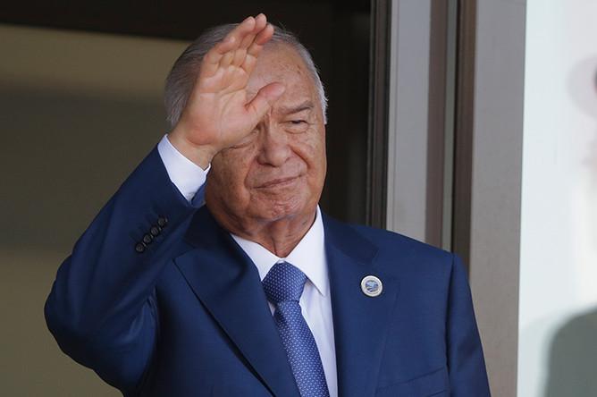 2016 год. Президент Узбекистана Ислам Каримов