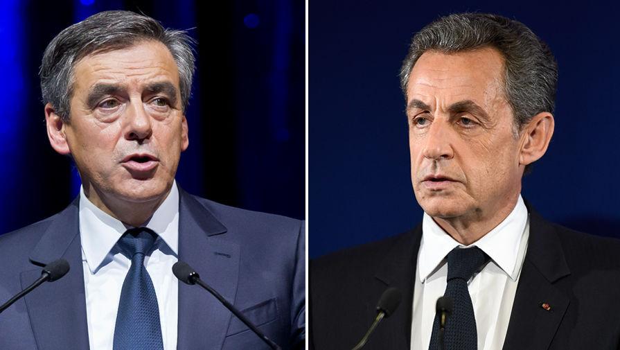 Франсуа Фийон и Николя Саркози