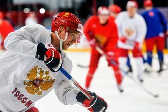 Нападающий сборной России и клуба НХЛ «Вашингтон Кэпиталз» Евгений Кузнецов