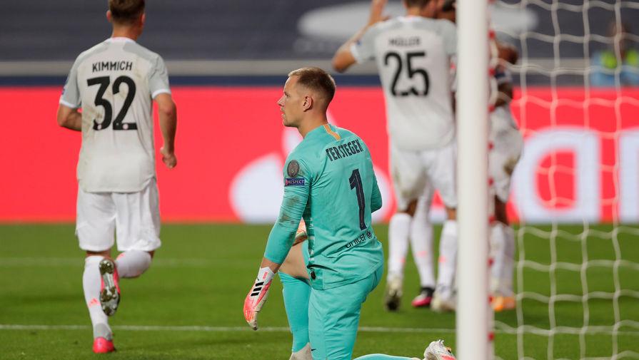 Бавария разгромила Барселону в Лиге чемпионов