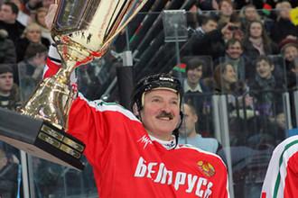 У белорусского «батьки» хоккей не отнять!
