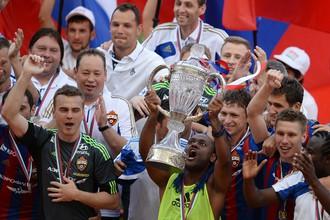 В минувшем сезоне ЦСКА выиграл все
