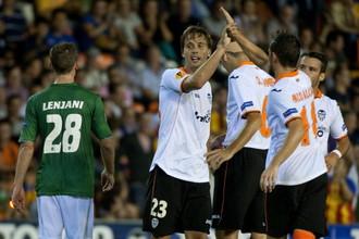 «Валенсия», в отличие от российских клубов, смогла разгромить «Санкт-Галлен»