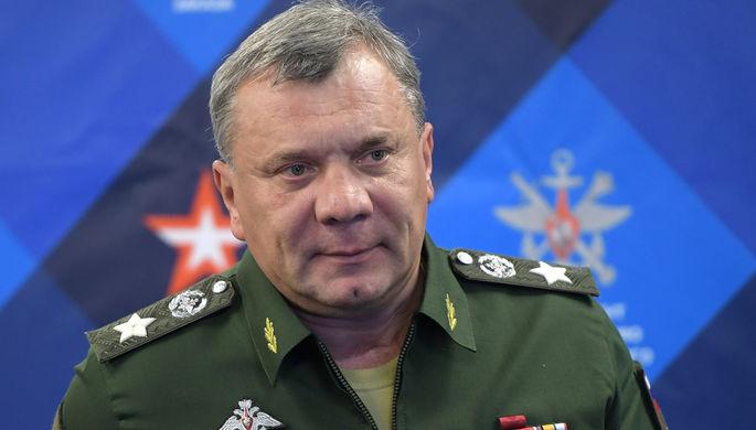 Заместитель министра обороны России Юрий Борисов