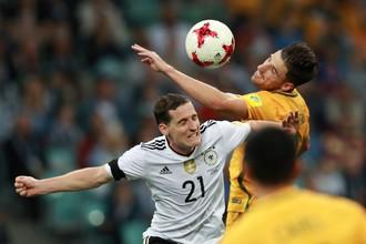 Германия обыграла Австралию не без проблем