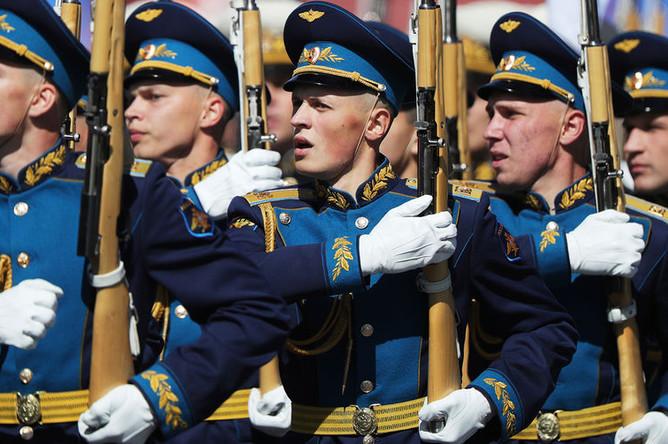 Военный парад, посвященный 73-й годовщине Победы в Великой Отечественной войне 1941-1945 годов на Красной площади, 9 мая 2018 года