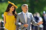 Амаль и Джордж Клуни насвадьбе принца Гарри и Меган Маркл вВиндзоре, 19 мая 2018 года