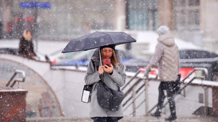 Синоптик рассказал о продолжительности снегопада в Москве