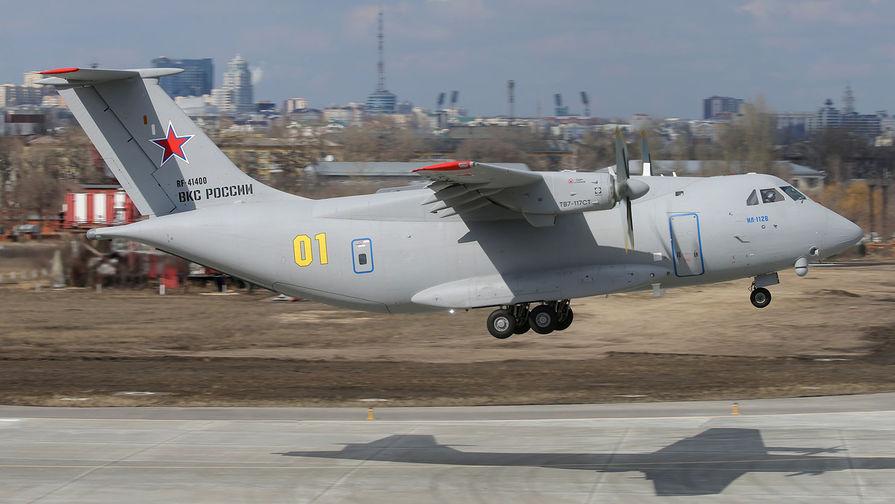 Полет нового российского военно-транспортного самолета Ил-112В, 30 марта 2021 года