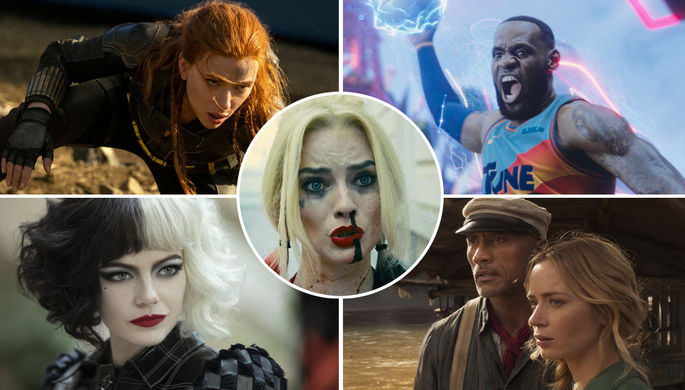 Главные фильмы лета: «Отряд самоубийц», «Космический джем» и «Черная вдова»