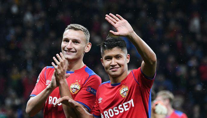 Федор Чалов (слева) и Ильзат Ахметов вызваны в сборную России