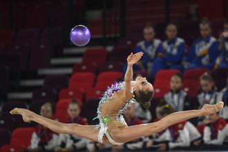 Российская гимнастка Анастасия Гузенкова