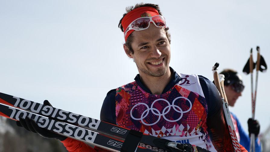 Лыжник Илья Черноусов
