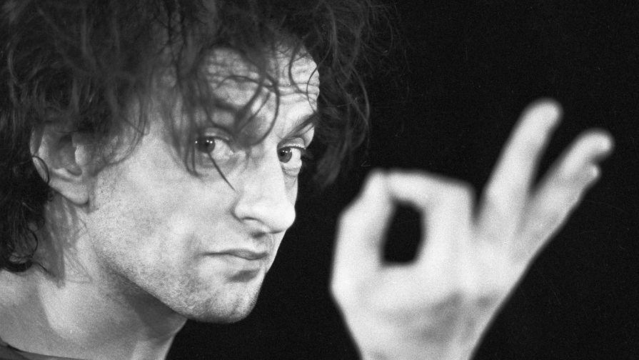 Артист Ленинградского театра клоунов мимов «Лицедеи» Вячеслав Полунин, 1984 год
