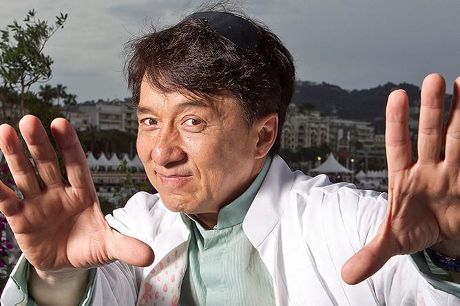 4. Актер Джеки Чан