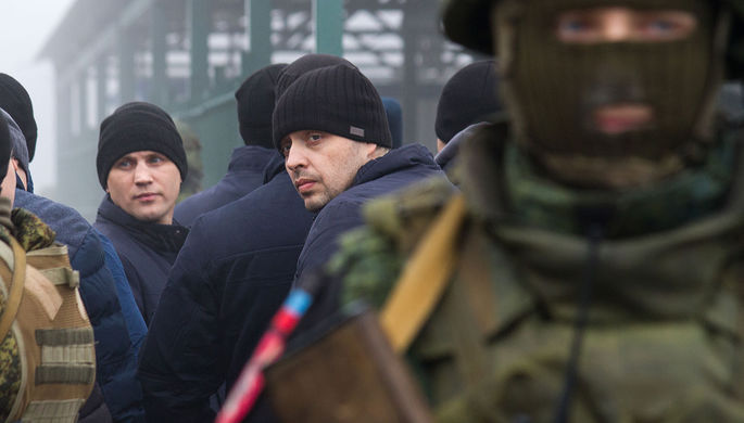 Обмен пленными между Украиной и самопровозглашенными Луганской и Донецкой народными республиками, 29 декабря 2019 года