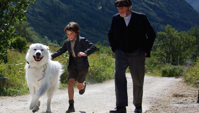 Кадр из фильма «Белль и Себастьян» (2013)