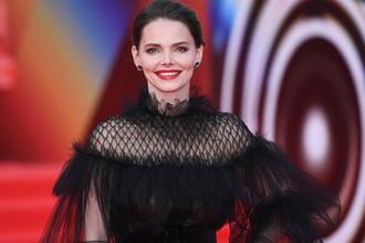 Актриса Елизавета Боярская на открытии 41-го Московского Международного кинофестиваля, 18 апреля 2019 года