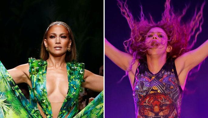 После провала: Шакира и Джей Ло рискнут на Супербоуле