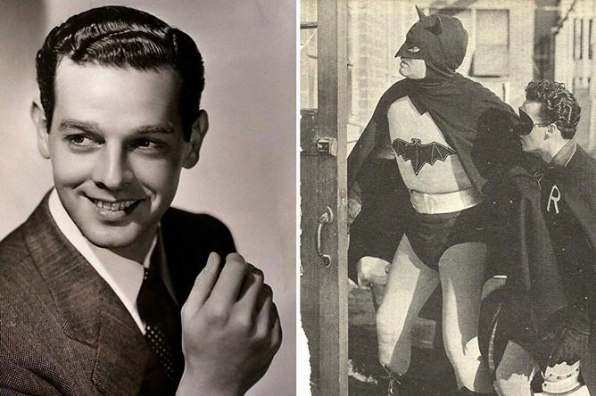 Роберт Лоури в сериале «Бэтмен и Робин» (1949) <br><br>Роберт Лоури вошел в историю как Бэтмен, у которого был, пожалуй, самый странный внешний вид — даже с учетом того, что в те годы супергерои на экране в большинстве своем выглядели весьма сомнительно