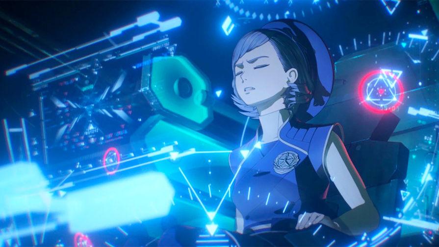 Кадр из аниме «Human Lost: Исповедь неполноценного человека»