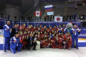 Золото женской сборной по хоккею стало самым неожиданным на зимней Универсиаде