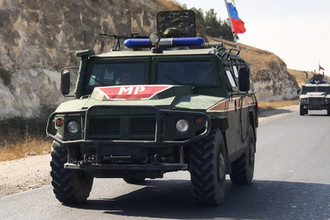 Подорвались на мине: российские военные пострадали в Сирии
